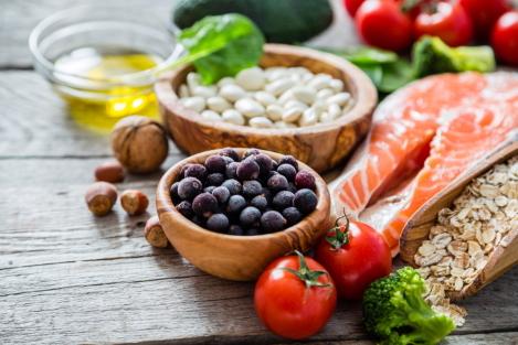 op gewicht blijven met gezonde voeding