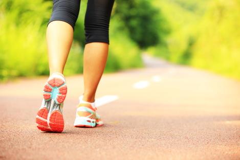 bewegen helpt bij afvallen