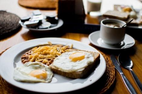 ontbijt afvallen