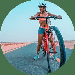 Sporthorloge voor fietsers