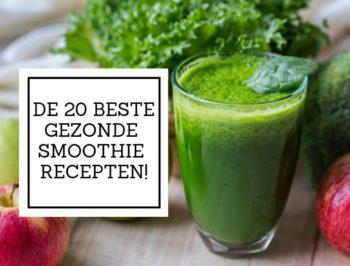 20 gezonde smoothies