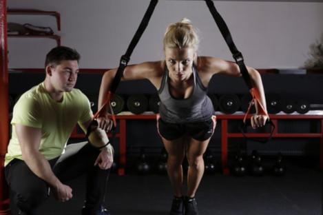 HIIT training workout