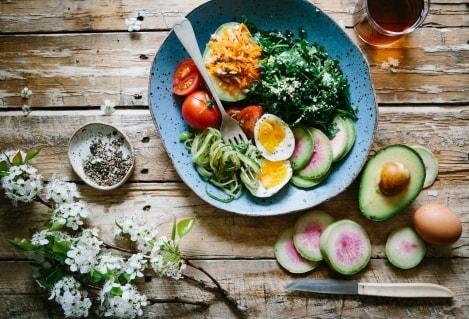 vegetarisch afvallen