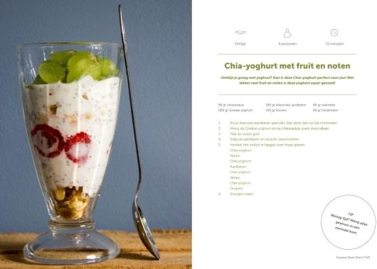 chia yoghurt