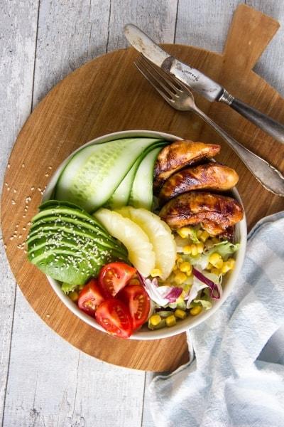 kip hawai salade bowl