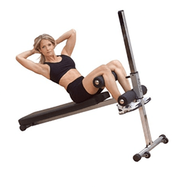 body solid ab trainer