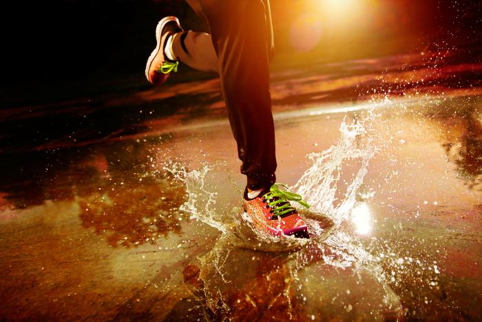hardlopen in slecht weer