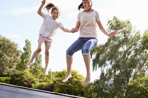belastbaar gewicht trampoline