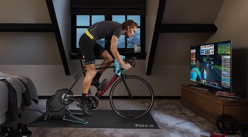 interactieve fietstrainer
