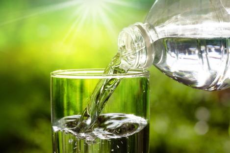 vermoeidheid en water