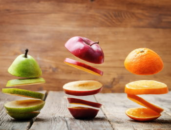 hoeveel fruit per dag