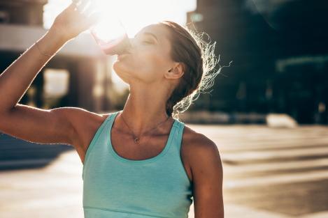 lekkere trek door dorst