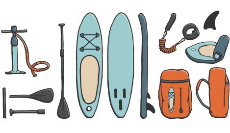 opblaasbare paddle board