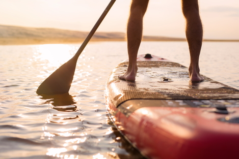 paddle board vorm