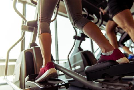 slanke benen door cardio
