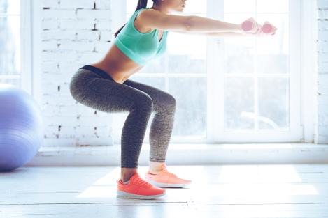 slanke benen oefeningen