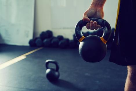 trainen met kettlebell