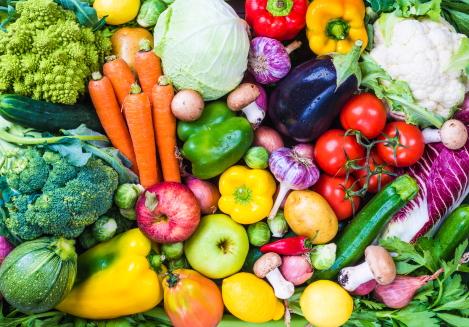vezelrijke groente