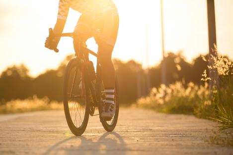 conditie opbouwen met fietsen