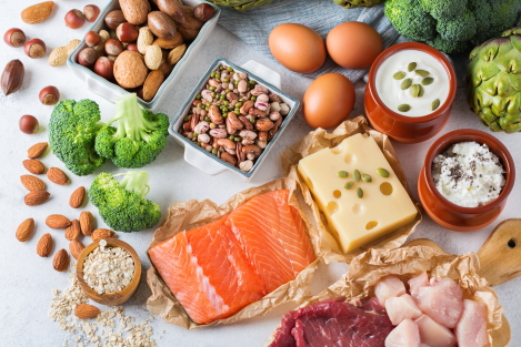 eiwitrijke voeding