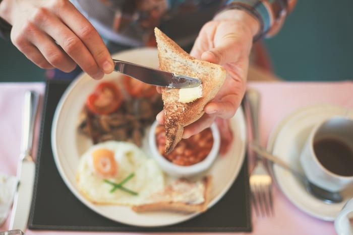 ontbijt overslaan