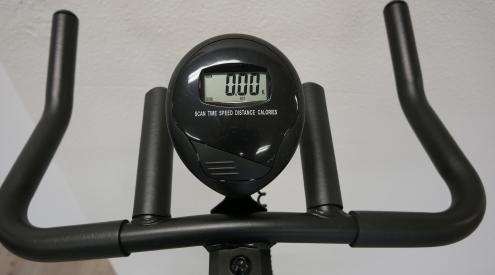 stuur met display van de fitbike race 3