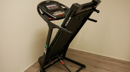 focus fitness jet 2 is inklapbaar