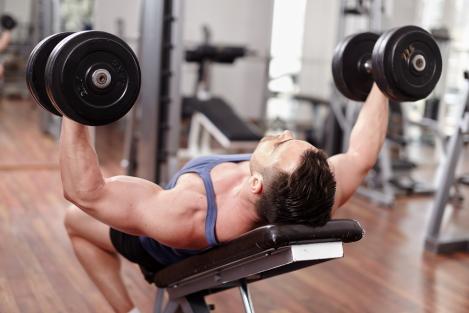 vlak of verstelbare fitnessbank