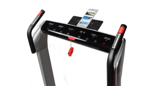 Flow Fitness DTM400i display met tablet houder