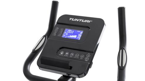 de Tunturi Fitcycle 40 heeft een luxe display