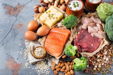 eet veel eiwitten om 5 kilo af te vallen