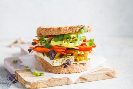 groente als koolhydraatarm beleg
