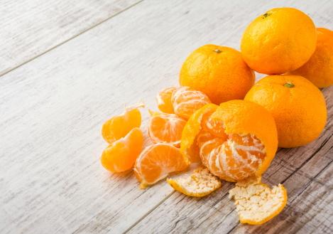 mandarijn is een koolhydraatarm fruit