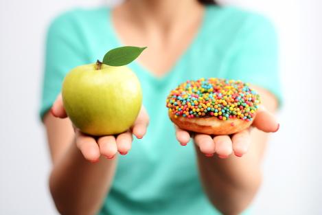minder calorieen eten