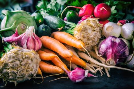 veel groentes eten
