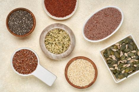 zaden zijn eiwitrijk