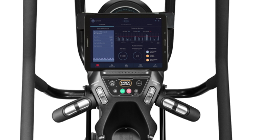 Bowflex Max Trainer M8i interactieve mogelijkheden