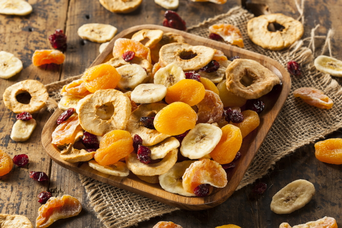 is gedroogd fruit gezond