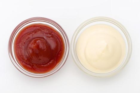 ketchup of mayonaise