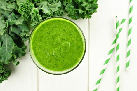 sirtuïnes uit groene groentes